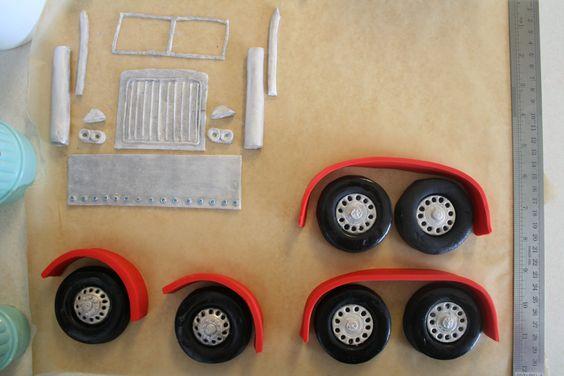 Easy+Semi+Truck+Cakes | Semi Truck Birthday Cake — Cars Trucks Automobiles Picture                                                                                                                                                     Más