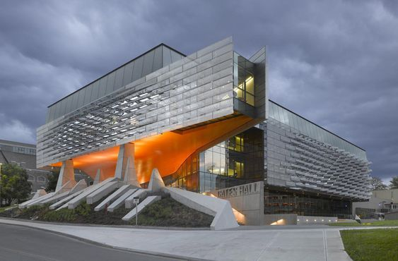 Bill & Melinda Gates Hall / Morphosis Architects, © Roland Halbe