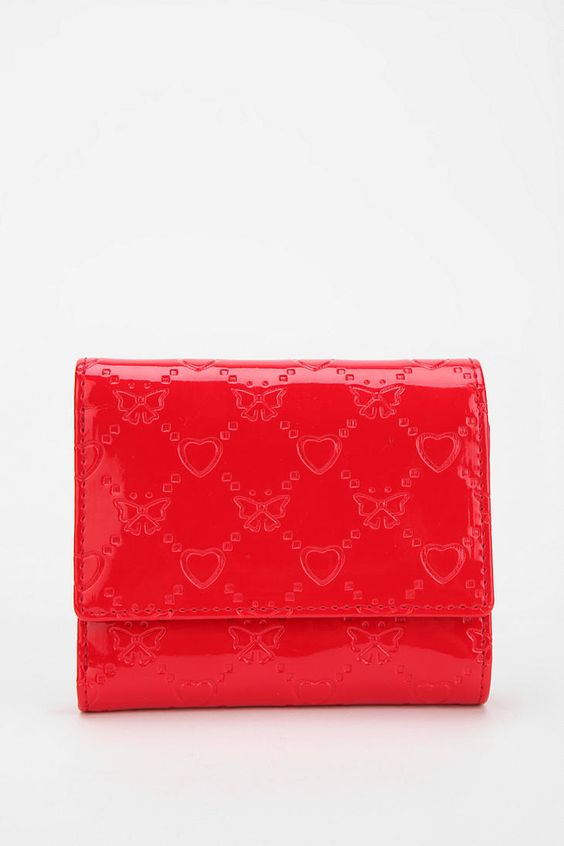 Kimchi Blue Sweetheart Snap Wallet #urbanoutfitters
