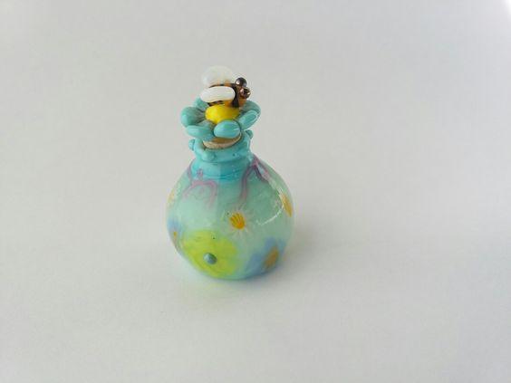 bee perfume bottle by LiNda Ruth WiLSoN