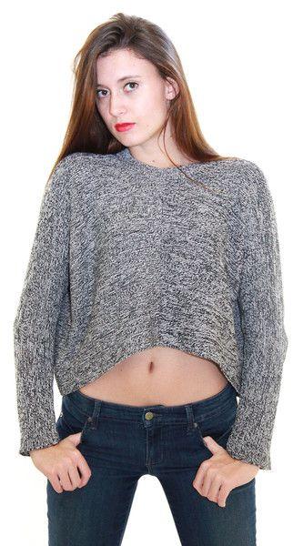 Charcoal Stitch Sweater