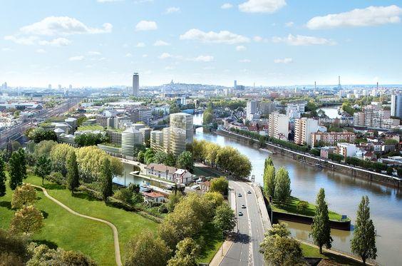Neaucité : un nouvel écoquartier à Saint-Denis