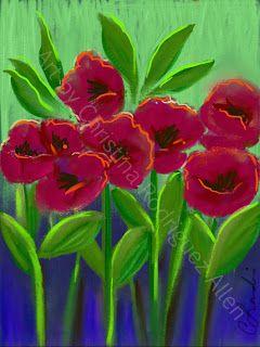 Poppy Dance by C.Rodriguez Landis