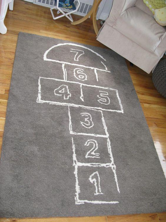 Hopskotch Rug from @Robert ONeill - great #nursery or #bigkidroom rug