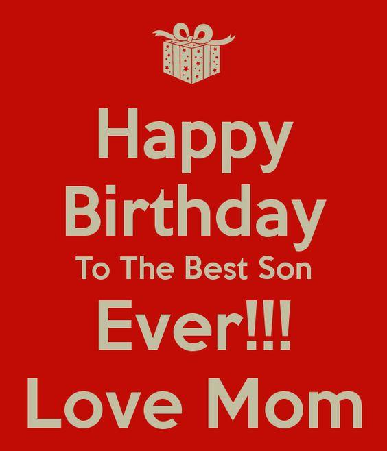 Wünsche Zum Geburtstag Sohn