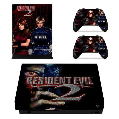 Resident Evil 2 Claire Leon Rpd Officers Xbox One X Skin With