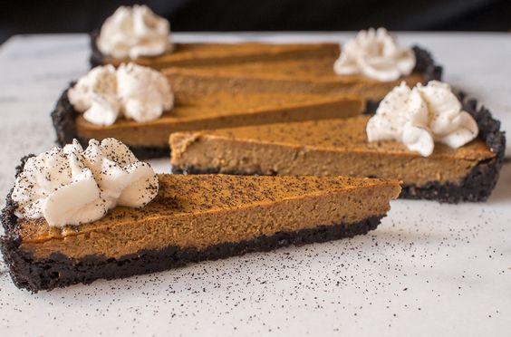 Chocolate Bourbon Pumpkin Tart | The F&B Department