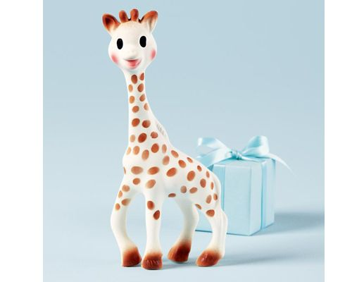 Let us introduce you to the miraculous healing powers of Sophie, the giraffe teether. www.thebump.com