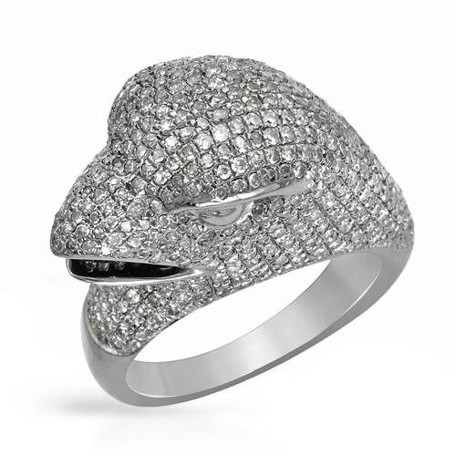 Ring with 2.42ct TW Diamonds Crafted in 925 Sterling Silver - Overstock Shopping - Top Rated Diamond Rings