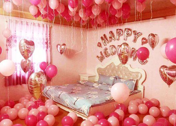 Trang trí phòng tân hôn tone hồng #trangtriphongtanhon #phongtanhon #trangtriphongcuoi