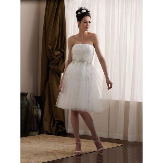 Cute Short White Wedding Dresses_Wedding Dresses_dressesss