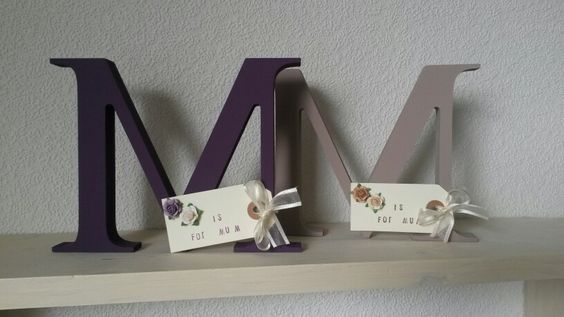 Mothers day initials