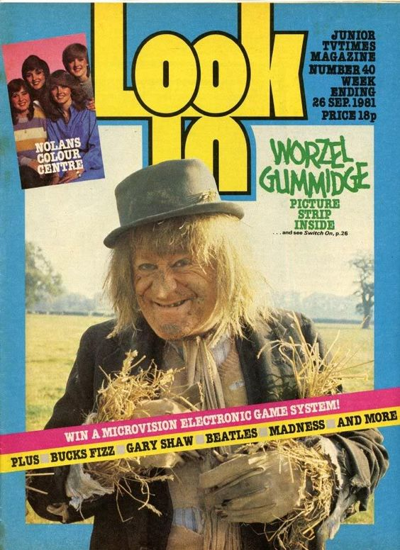 Look In AND Worzel Gummidge - two birds with one stone
