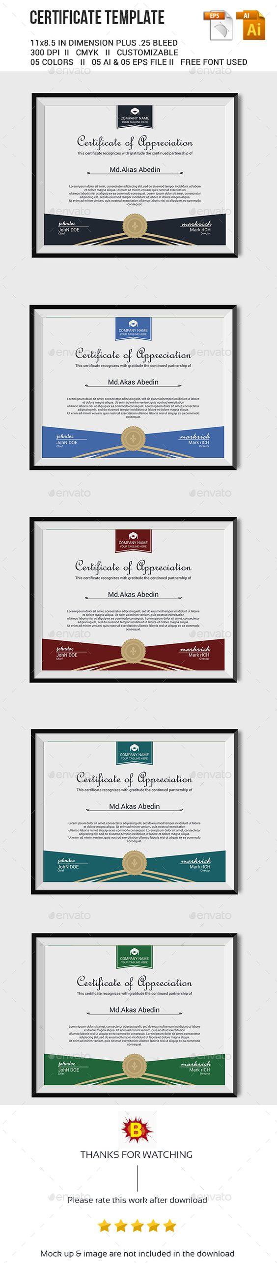 Certificate template certificate pinterest certificate certificate template yadclub Choice Image
