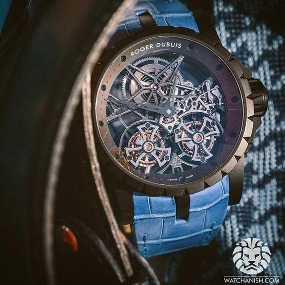 Roger Dubuis Double Flying Tourbillion  Price $300000 USD . . . . . #watch6ix #rogerdubuis #swissmade #swisswatches #luxurytimepieces #watches #luminescent #swisswatch #luxurywatches #chronometer #automaticwatch #mechanicalwatch #tachymeter #watchporn #tourbillon #chronograph #gems #ruby #diamonds #instawatch #watchmania #moonphase by watch6ix
