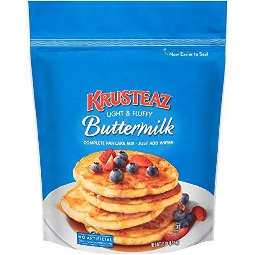 Krusteaz Buttermilk Pancake Mix 10 Pound Boughtagain In 2020 Buttermilk Pancake Mix Pancakes Mix Buttermilk Pancakes