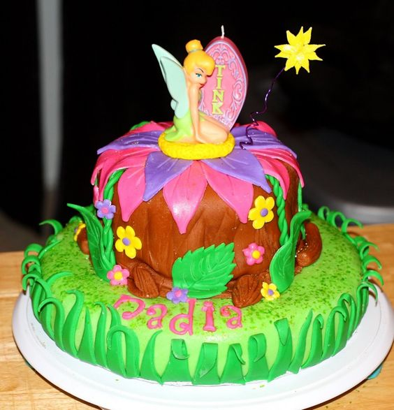 Tinkerbell Birthday Cakes Images | Cake Photo Ideas
