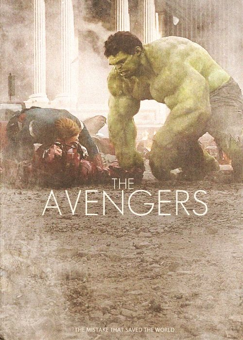 And forever let's be ... Avengers!