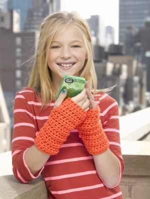 Using half double crochet stitches, you'll finish these easy to make wrist warmers in no time.