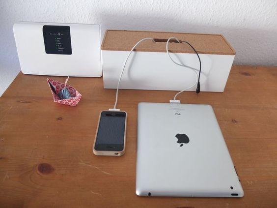 ordnung f r kabel ladestation f r handys co endlich kein kabelgewirr mehr so ordnen sie ihre. Black Bedroom Furniture Sets. Home Design Ideas