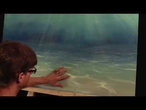 painting the sea floor mural joe youtube art