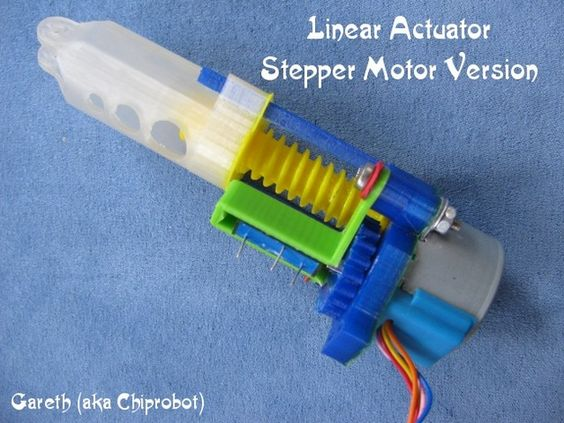 Linear Actuator Stepper Motor Version By Chiprobot