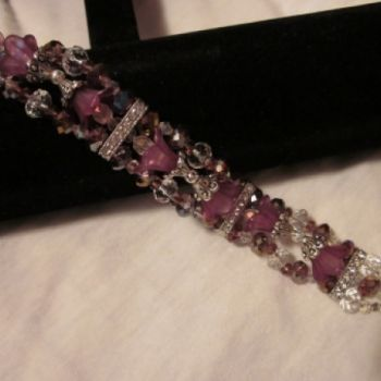 81/2 Swarovski Crystal bracelet with a magnet clasp.. at the Shopping Mall, $30.00 (USD)