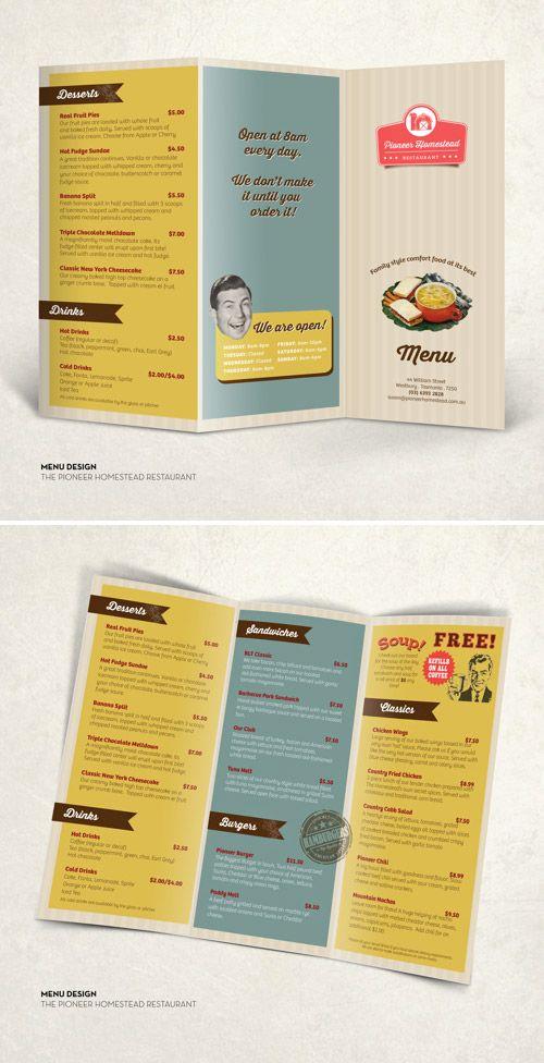 Inspired Restaurant Menu Brochure Designs You Must See