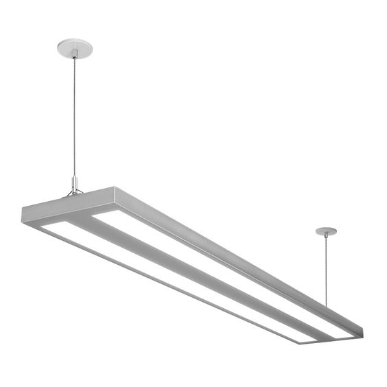 Floatplane suspended led suspended linear indoor for Suspente luminaire