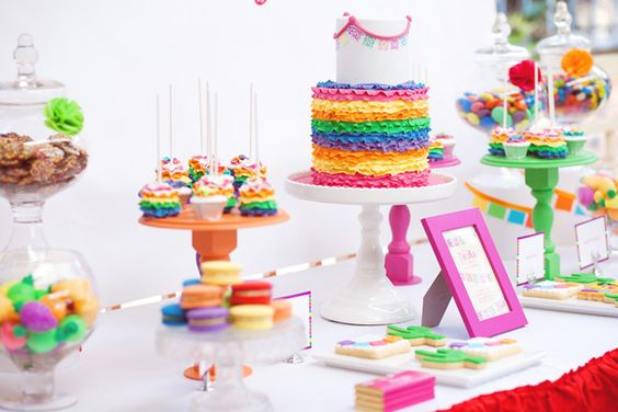 Colorful Mexican Fiesta Guest Dessert Feature « SWEET DESIGNS – AMY ATLAS EVENTS
