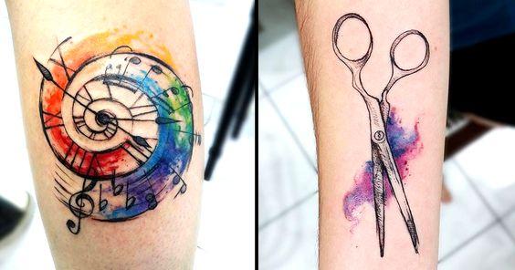 A tatuadora Mariana Amaral tem um estilo lindo de transpor a barreira entre o papel e a pele de seus clientes! Vejam aqui magníficas tattoos