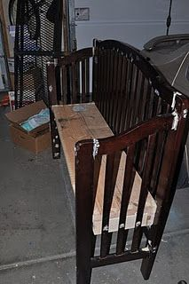 """Love this crib """"reuse"""" idea for when we're all done having kids."""