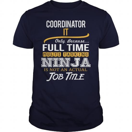Awesome Tee For Coordinator It T Shirts, Hoodie Sweatshirts
