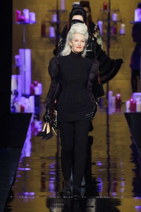 Pin for Later: Those Are No Ordinary Models on Jean Paul Gaultier's Runway Jean Paul Gaultier Haute Couture Fall 2014