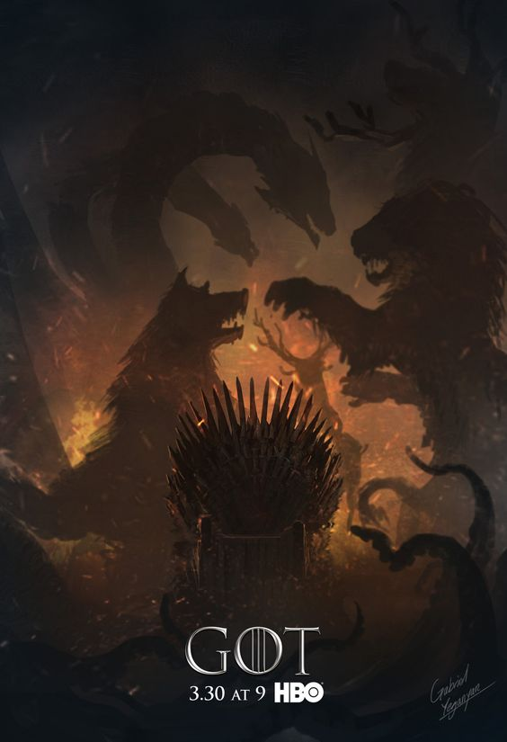 ArtStation - Concepts for HBO's Game of Thrones season 4 Cover, Gabriel Yeganyan: