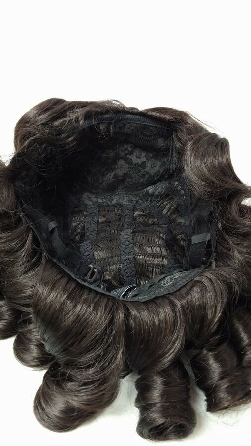 Grey Historical Colonial Costume Wig