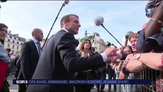 Emmanuel Macron rend hommage à Jeanne d'Arc