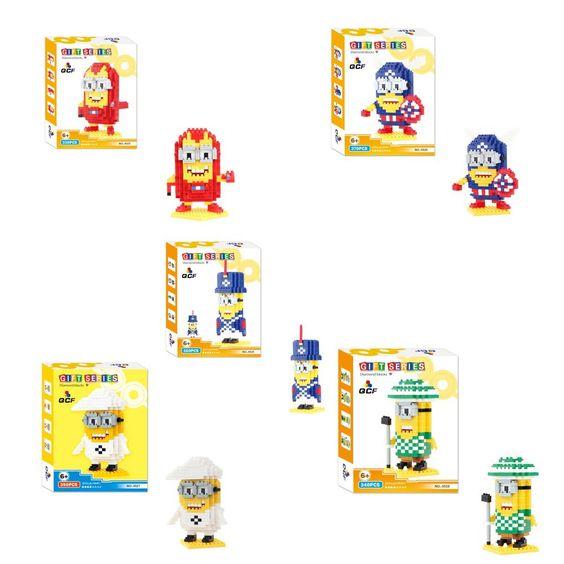 (Buy here: http://appdeal.ru/kdj ) QCF 9525-29 5Set Minion 1750Pcs building Diamond block brick series toys GIFT for just US $40.90