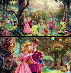 Sleeping Beauty <3: Favorite Princess, Disney S Sleeping, Princess Aurora, Beauty Painting, Disney Princesses, Disney Sleeping Beauty, Princess Disney, Beauty Aurora