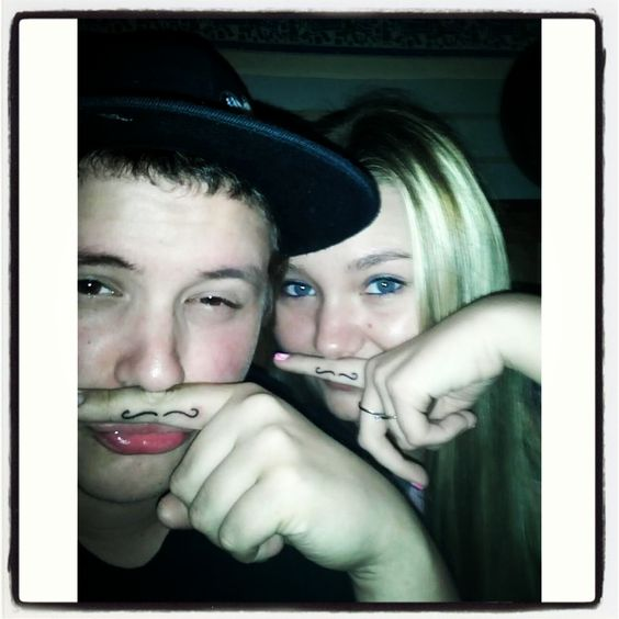 Our staches lol
