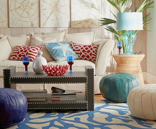 Living Room Decor Inspiration From Wayfairs Coastal Designer Rooms Shop The Look In 2020 Decor Coastal Decorating Living Room Minimalist Home Interior