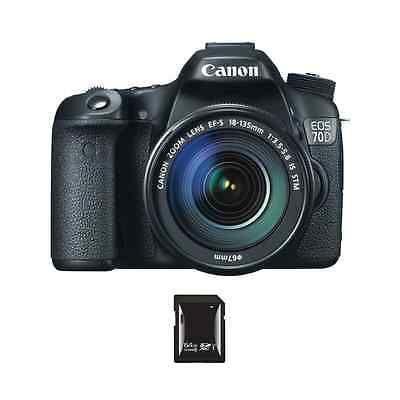 photo-video: Canon EOS 70D DSLR Camera w/18-135mm Lens & 64GB SDXC Card #Camera - Canon EOS 70D DSLR Camera w/18-135mm Lens & 64GB SDXC Card...