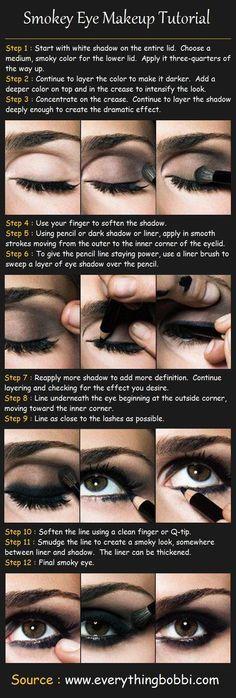 Smokey Eyes Makeup hack