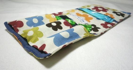 Sanitary Pad / Tampon Pouch  Hygienic Bandages Case  by shusha64, $15.00