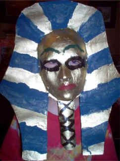 Egyptian Pharoah Masks