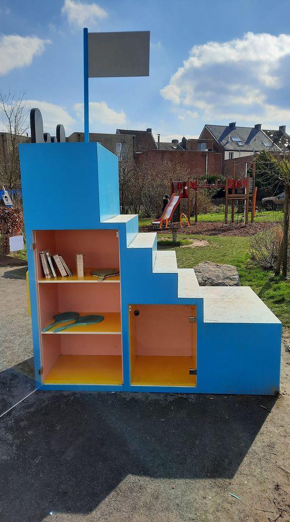 Boekenruilkast Sint-Niklaas