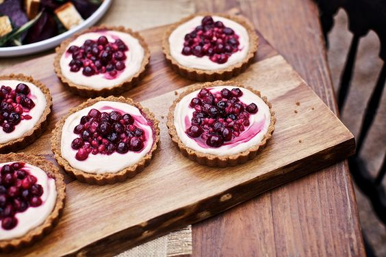 Snickerdoodle Cranberry Cream Cheese Tarts. You'd win us over with these!