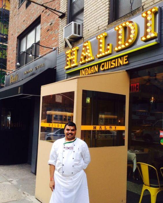 Haldi restaurant, NYC. 4/15