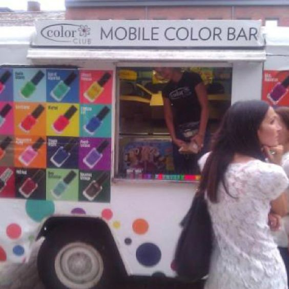 I luv this idea for all u nail polish addicts like me <3 <3!!: Beauty Bus, Mobile Nail, Favorite Places, Bus Store, Bussiness Ideas, Places Spaces, Color Bar