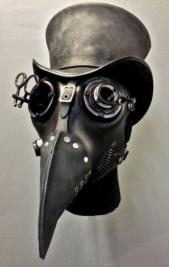 Gas Mask - Plague - Black